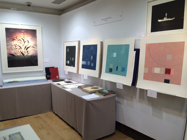 , 'Felim Egan at Multiplied Art Fair, London,' , Stoney Road Press
