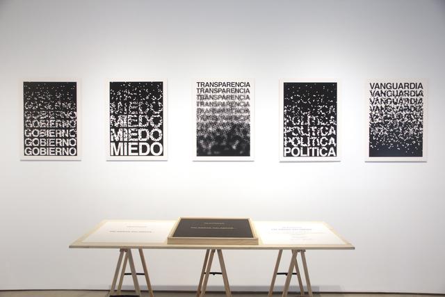 , 'Palabras, palabras ,' 2017, MPA / Moisés Pérez De Albéniz
