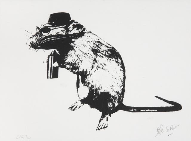 Blek le Rat, 'The Street Artist Paraphernalia', 2016, Julien's Auctions