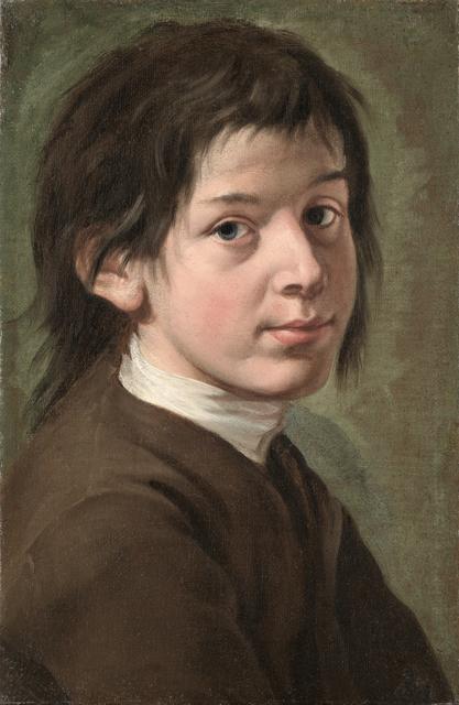 , 'Portrait of a Young Man,' 1735-1740, Brun Fine Art