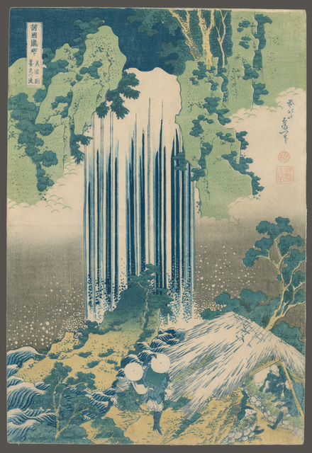 , 'Yoro (Care of the Aged) Falls in Mino Province,' 1832, The Art of Japan
