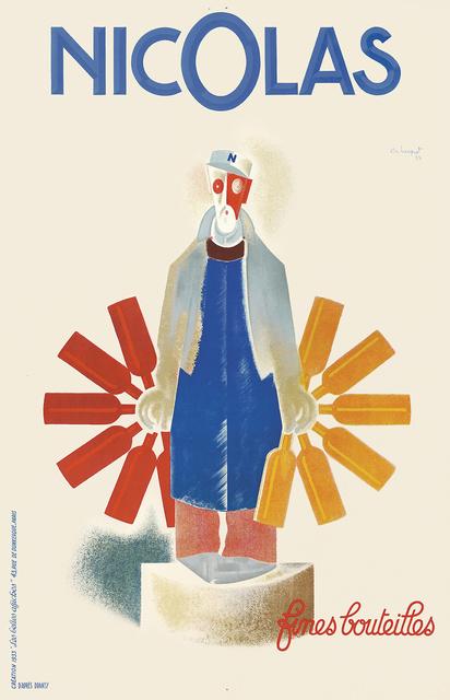Charles Loupot, 'Nicolas.', 1933, Rennert's Gallery