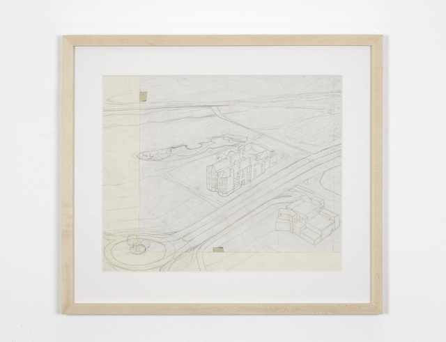 , 'Two Buildings,' 2012, GRIMM