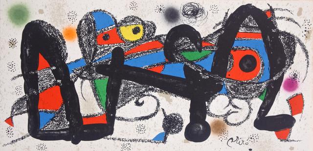 Joan Miró, 'Miró Escultor Portugal', 1974, Hans den Hollander Prints