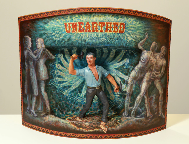 , 'Unearthed,' 2011, Jonathan LeVine Projects