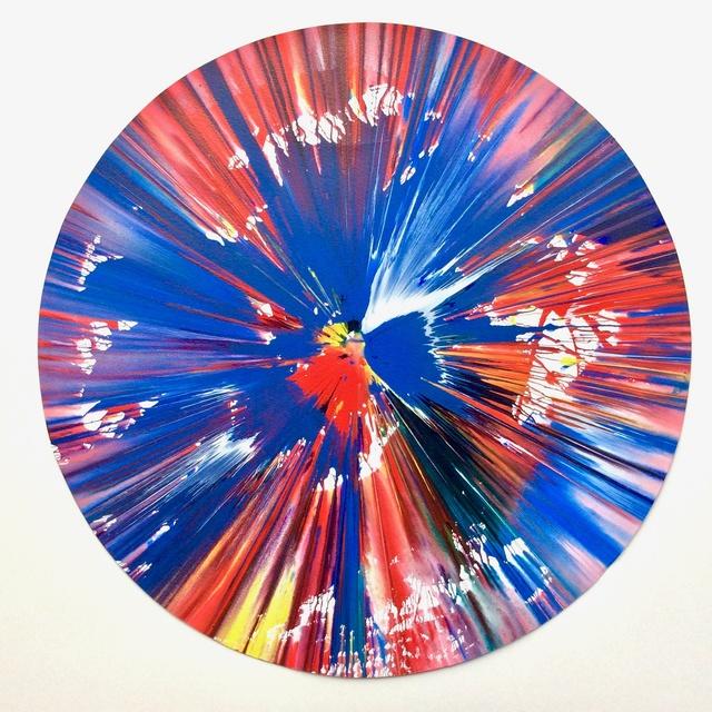 Damien Hirst, 'Circle (original spin painting)', 2009, Joseph Fine Art LONDON