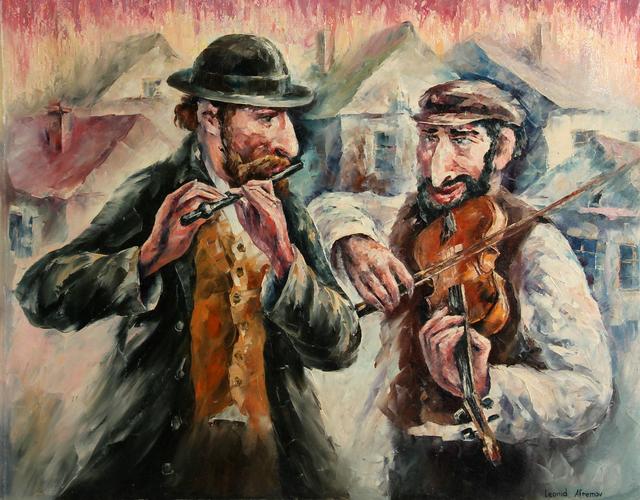 Leonid Afremov, 'Two Street Musicians', 2001, RoGallery