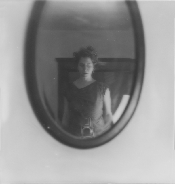, 'Self Portrait (in the oval mirror),' 2016, Gallery NAGA
