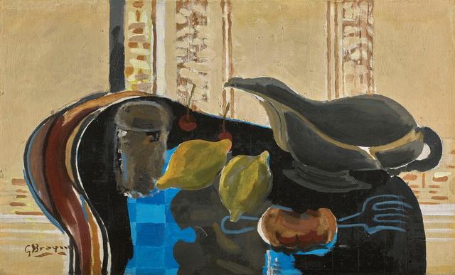 Georges Braque, 'La Saucière', 1942, Painting, Oil on canvas, Bernard Jacobson Gallery