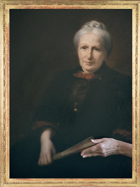, 'Portrait de S.M.l'Impératrice du Brésil, Thérèse-Christine de Bourbon-Siciles, Françoise.,' 2015, Espace L