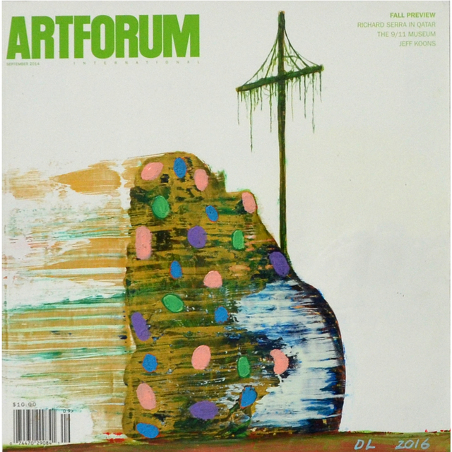 , 'Altered Artforum #5,' 2016, Klowden Mann