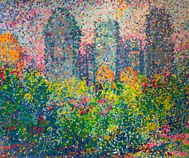 Santina Semadar Panetta, 'Babel', 2016, Painting, Oil, Art Upclose