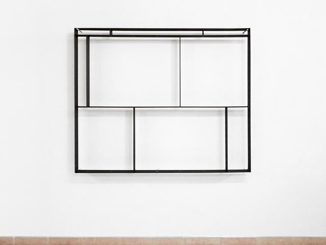 , 'Deconstrucción en tres líneas,' 2019, Galería Pelaires