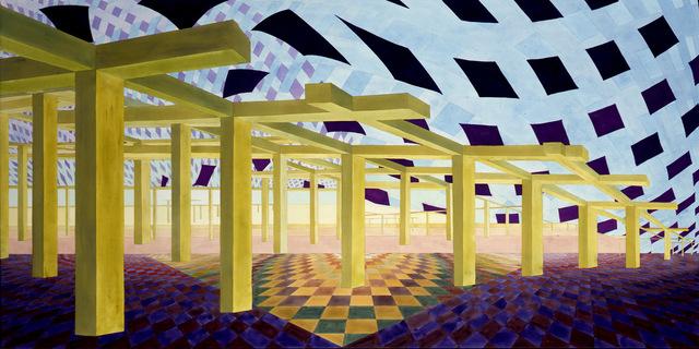 , 'Particular Paradox 5,' 1999, Al Held Foundation