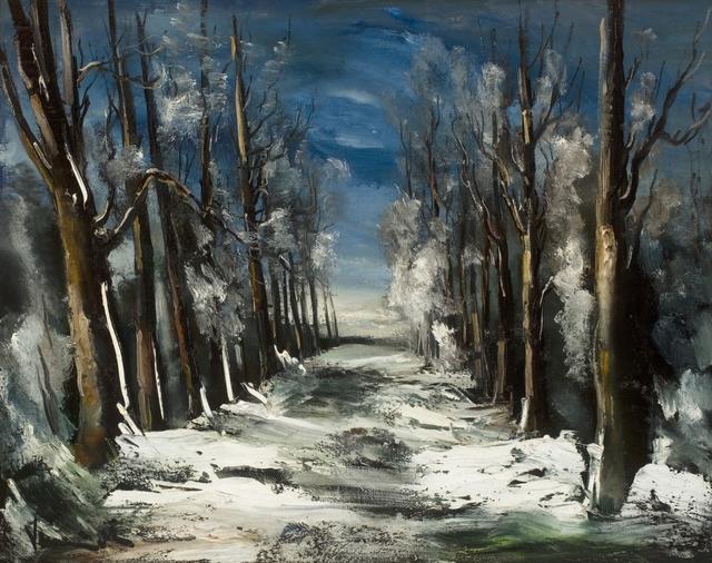 , 'Paysage de Neige,' ca. 1922-1925, Willow Gallery