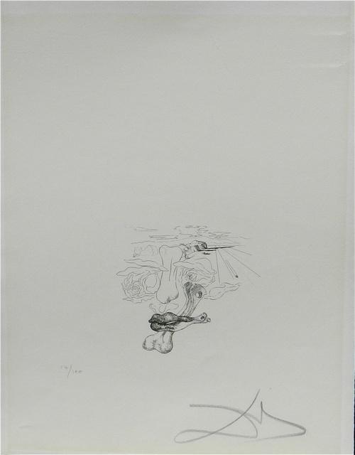 Salvador Dalí, 'Les Chants de Maldoror (Face)', 1934, Print, Etching, Fine Art Acquisitions Dali