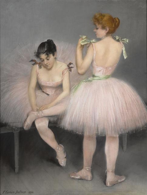 , 'Les Danseuses,' 1894, M.S. Rau