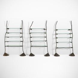 Ron Arad, 'Set of three Unique and Custom shelves from Bazaar, London,' 1984, Wright: Design Masterworks