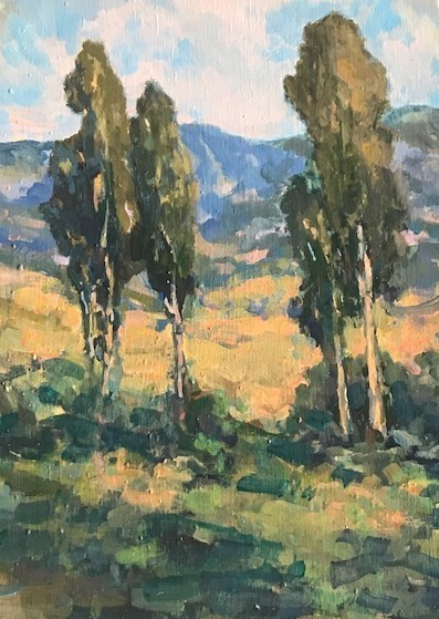 , 'Montecito High Country,' 2018, Pauline Johnson-Brown