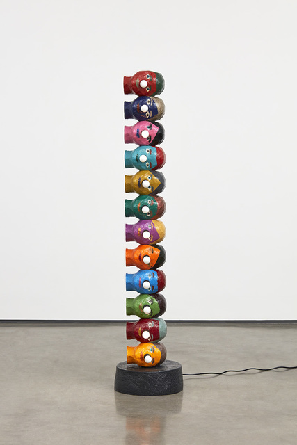 , 'Silent Visible Conversation,' 2019, David Kordansky Gallery