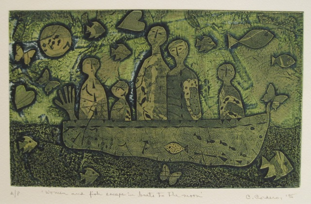 , 'Women and Fish escape in Boats to the Moon,' 1995, The Art Vault