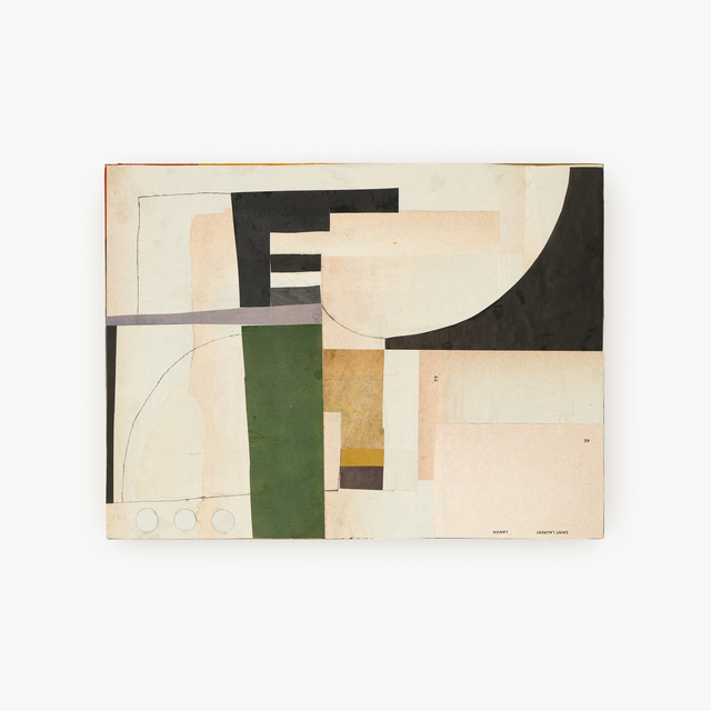 Maureen Meyer, 'Plans', 2018, Drawing, Collage or other Work on Paper, Mixed media, charcoal, and pencil on wood panel, Tappan