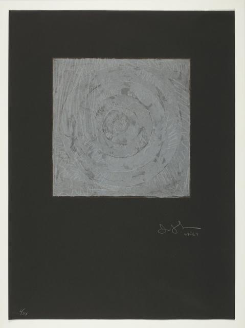 Jasper Johns, 'White Target (ULAE 54)', 1968, Sotheby's