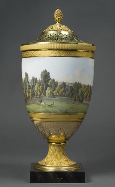 'Vases pots-pourris de la manufacture de Berlin (Pot-pourri vase from Berlin manufacturer)', c. 1804-1805, Musée national du château de Malmaison