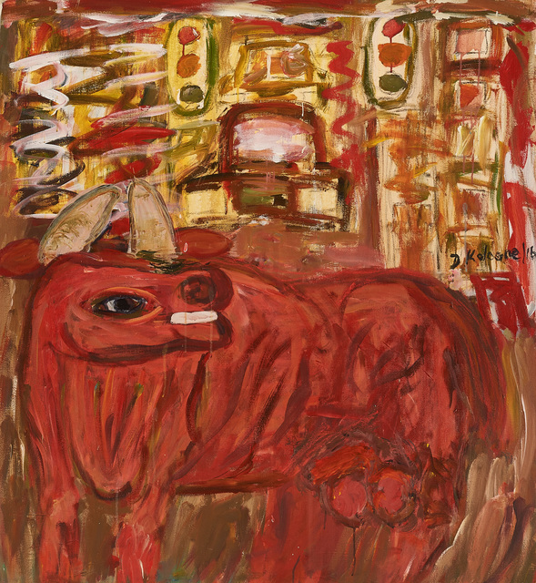 , 'Bull in the city,' 2016, Goodman Gallery