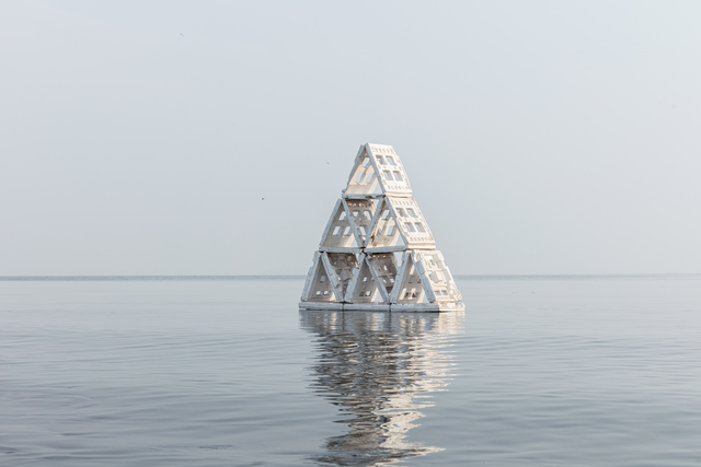 , 'Holy Boulevard Pyramid,' 2018, UP Gallery