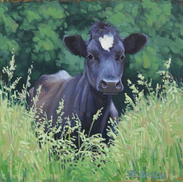 , 'Field Sprite, (CowStudy 28),' , West Branch Gallery