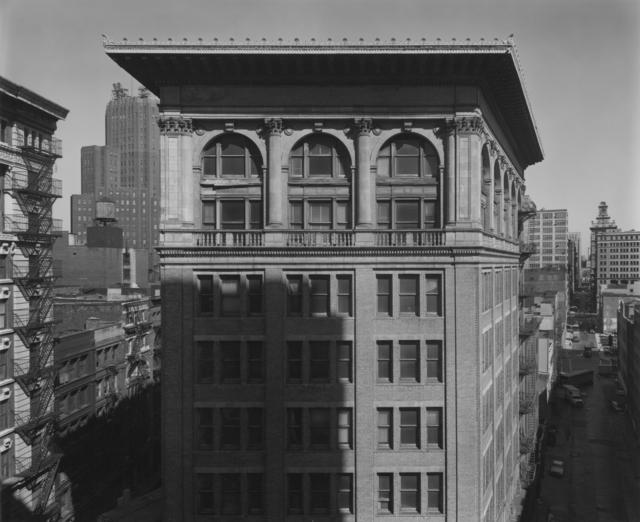 Bevan Davies, 'Hudson and Franklin Streets, New York', 1977, Photography, Vintage ferrotyped gelatin silver print, Joseph Bellows Gallery
