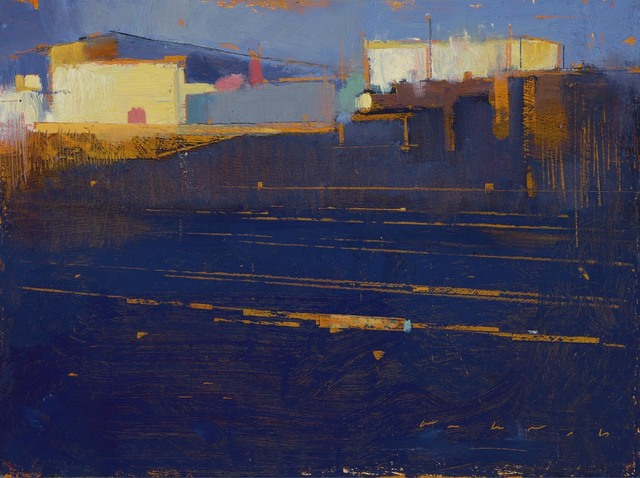 , 'At the Tracks,' 2017, Sue Greenwood Fine Art