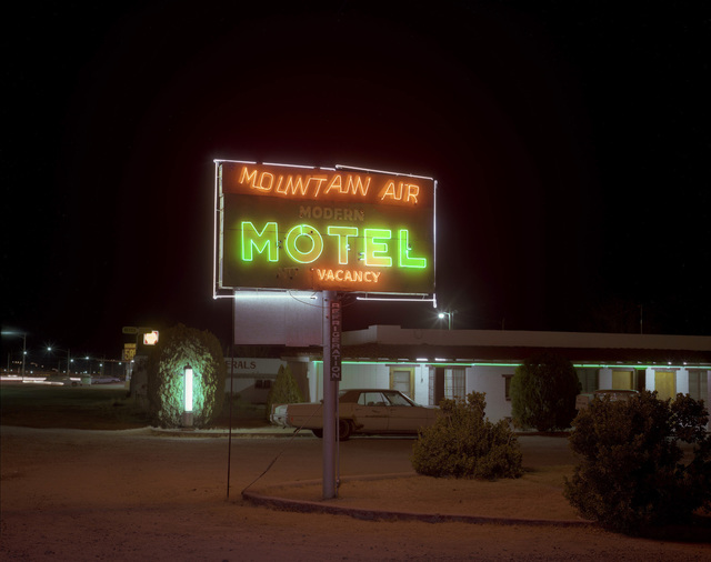 , 'Mountain Air Motel, Benson, Arizona, December 3, 1980,' 1980, Robert Koch Gallery