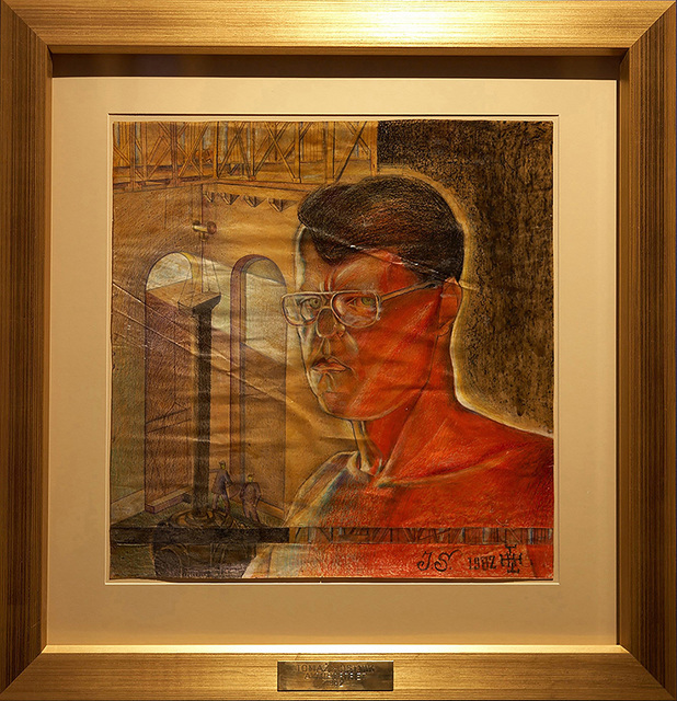 , 'Ivo Saliger Autoportrait (Tomaz Hostnik),' 1982, P74 Gallery