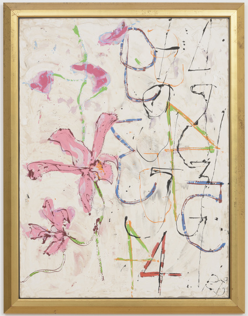 , 'Thai Orchids with Numbers,' 1989, Samuel Freeman