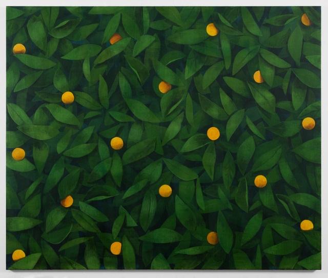 , 'Untitled (Orange),' 2018, Galerie Nordenhake