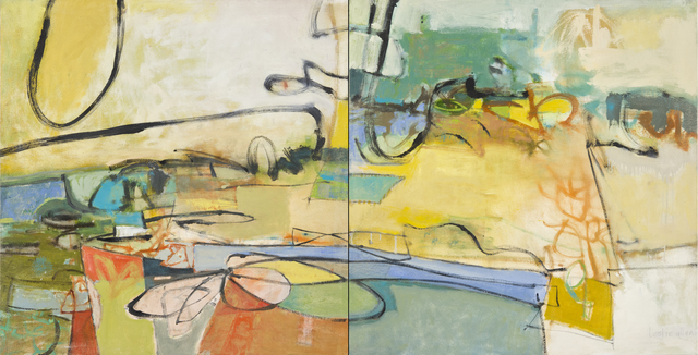 , 'Sunny Day, Sunday Drive, Diptych,' 2014, Seager Gray Gallery