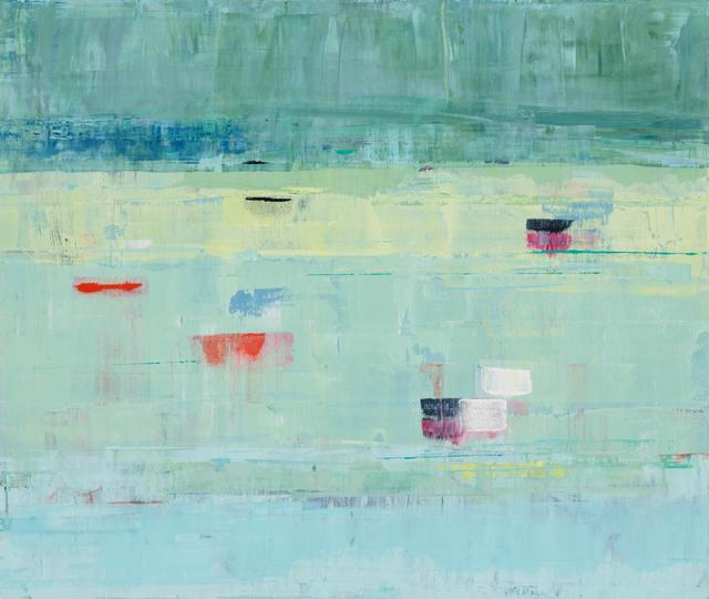 , 'Spring Greens,' 2016, Sue Greenwood Fine Art