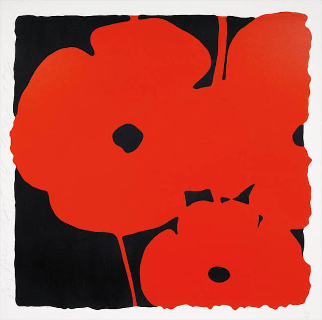 Donald Sultan, 'Big Poppies', 2014, michael lisi / contemporary art