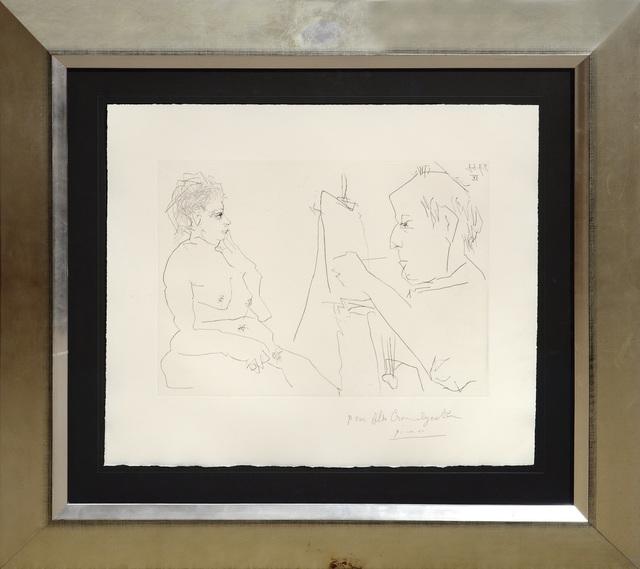 , 'Peintre et Modèle.,' 1966, Peter Harrington Gallery