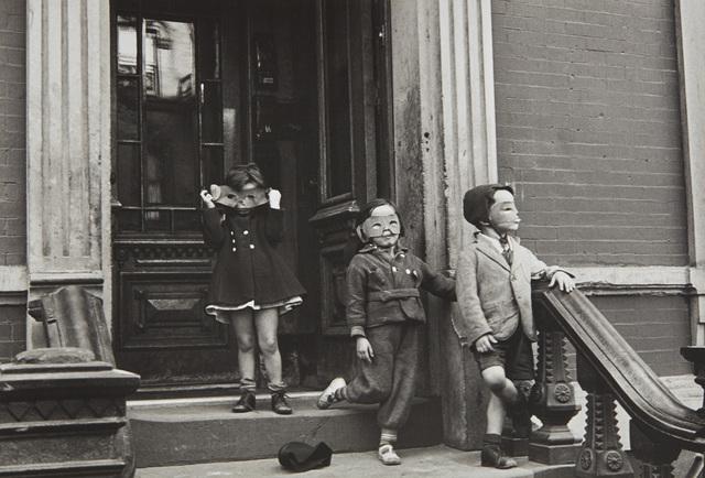 Helen Levitt, 'N.Y. (masked children on stoop)', circa 1940, Phillips