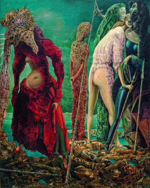 Max Ernst, 'The Antipope', December 1941–March 1942, Guggenheim Museum