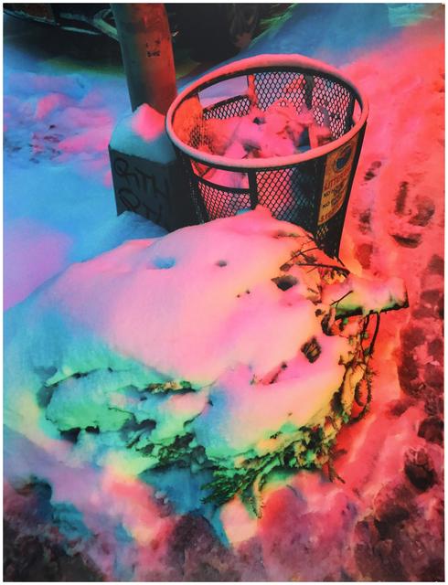 , 'Neon Snow Pt. II (SoHo, NYC),' 2017, e.artis contemporary