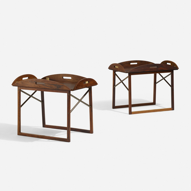 Svend Langkilde, 'Tray tables, pair', c. 1960, Wright