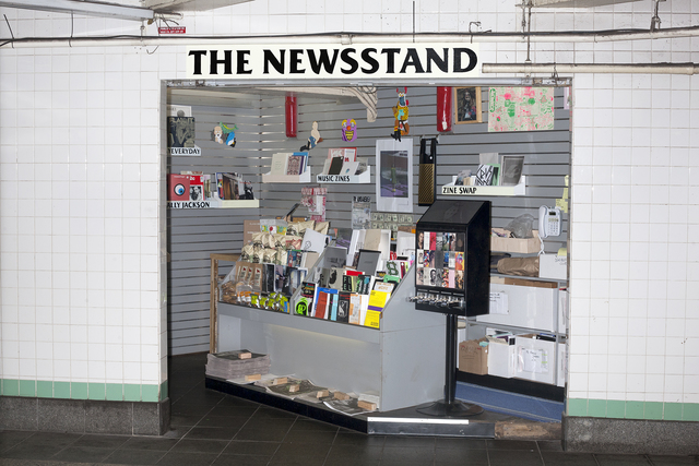 , 'The Newsstand,' 2013-2014, The Museum of Modern Art