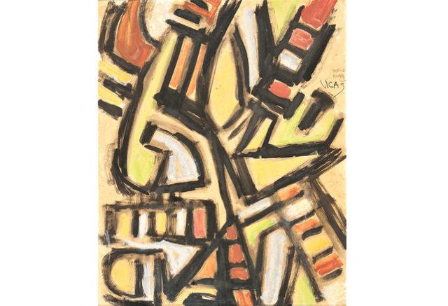 , 'Sujeto Selvatico,' 1956, KLEUR