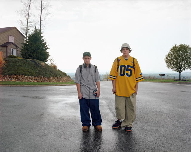 , 'Boys Walking Home after School, Harrisonburg, Virginia, May 1999,' 1999, Buchmann Galerie