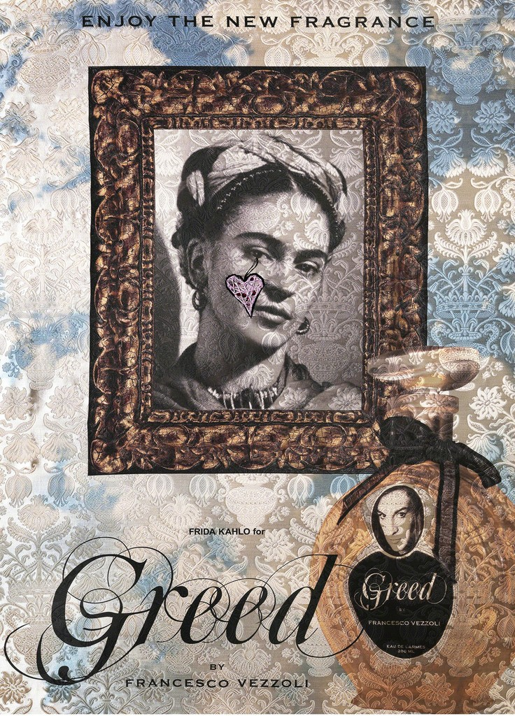Francesco Vezzoli, 'Enjoy The New Fragrance (Frida Kahlo For Greed),' 2009, Gagosian