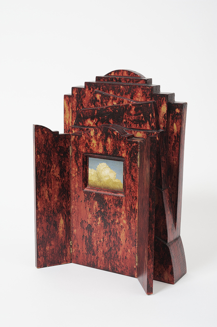 Jim Thalassoudis, 'Untitled (Cloud)', 1993, Sculpture, Oil on linen, wood, Charles Nodrum Gallery